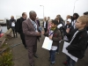 The delegates for the Pledging Conference were met by children from the Lundtofte School (Lundtofte Skole). Photo: Global Partnership for Education/Anders Thormann